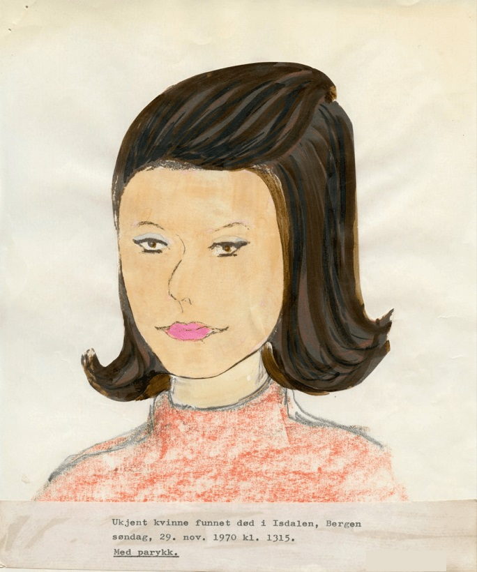 A sketch of the Isdale Woman